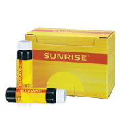 Sunrise healthy energy drink