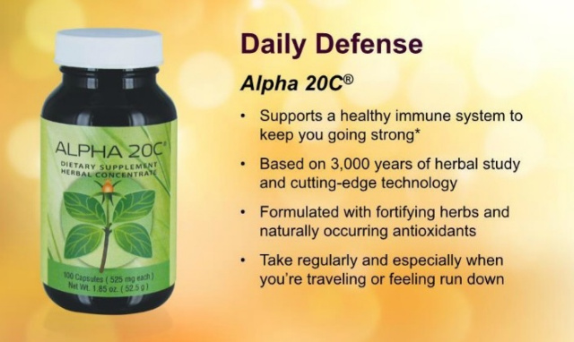 Alpha 20 C for the immune system