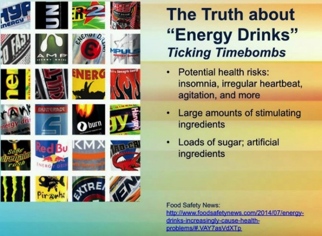 Energy Drinks Truth Graphic