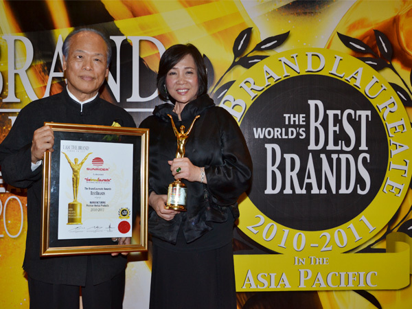 Sunrider Worlds Best Brands Award