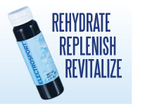 Electrosport Rehydrates, Replenishes and Revitalizes