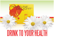 Fortune Delight Drink to Your Health banner