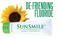 SunSmile Toothpaste Defriends Flouride